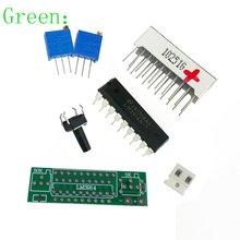 Green Electronic DIY Kits LED Display Board 3.7V Lithium Battery Capacity Indicator Module LED Power Level Tester 12V