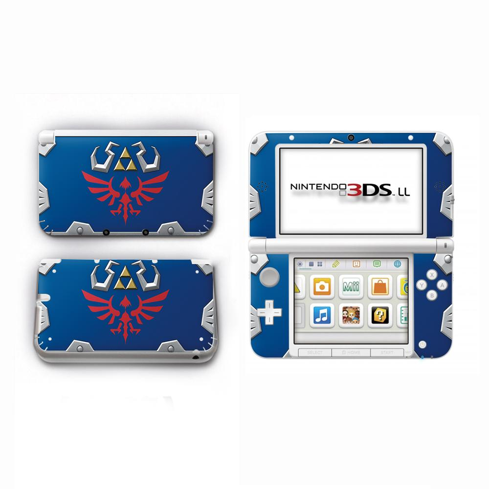 The Legend Of Zelda Decal Skin Sticker For Nintendo Old 3DSLL Skins Stickers For 3DS XL LL Regular Vinyl Protector Skin Sticker