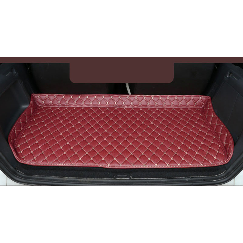 Lsrtw2017 Leather Car Trunk Mat Cargo Liner For Mercedes Benz Smart Fortwo 2007 2014 2013 2012 2011 2010 2009 2008 W451 451