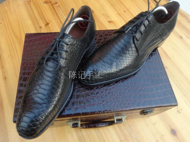 Customize Mens Shoes Derby Shoes Cow Leather Solid Buty Meskie Handmade Business Top Grade Calfskin Sole Leather Genuine Leather