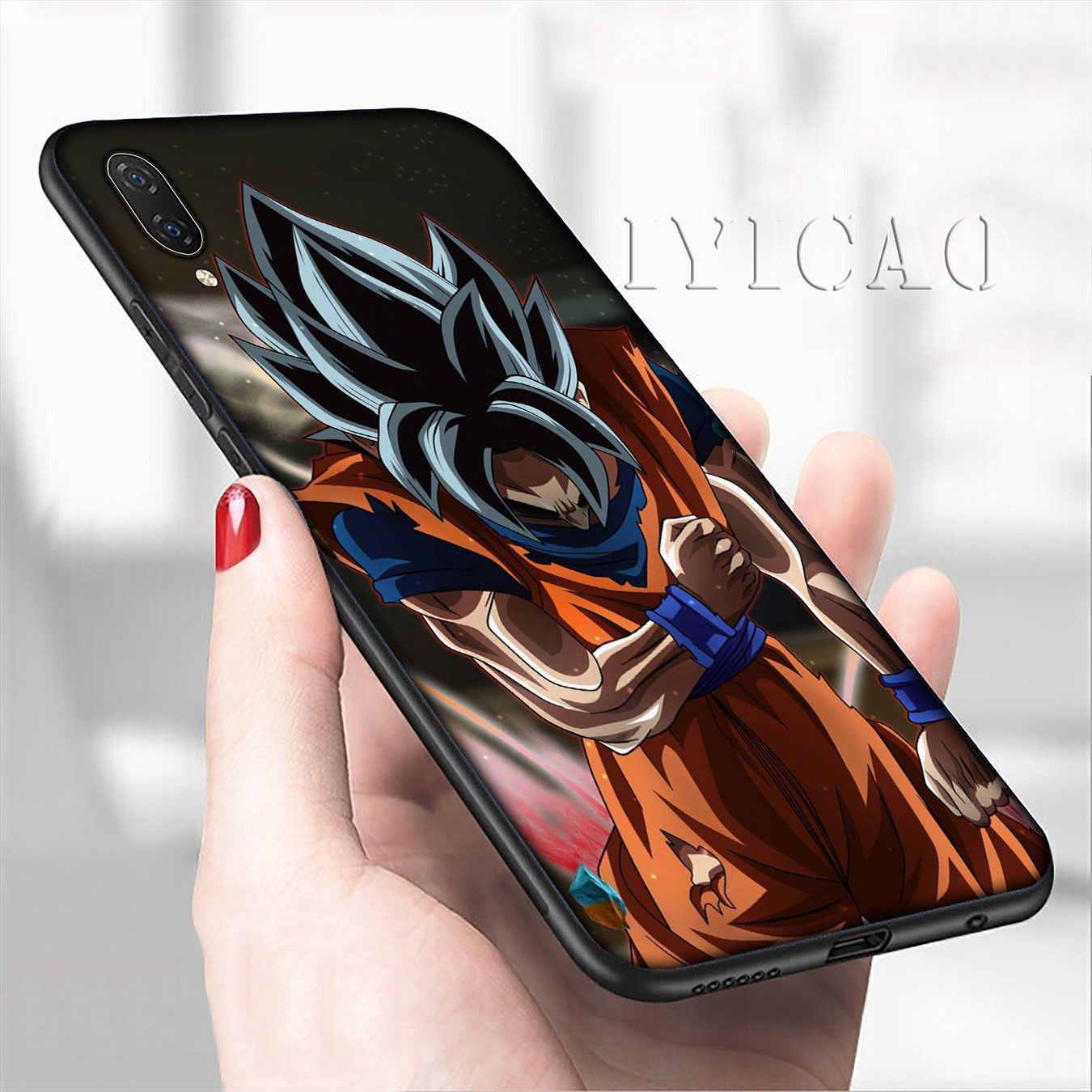 Iyicao Dragon Ball Z Anime Goku Hoạt Hình Mềm Mại Ốp Lưng Điện Thoại Tiểu Mi Mi 10 9 9T A3 Pro CC9 CC9E 8 SE A2 Lite A1 6 Pocophone F1 Mi 9