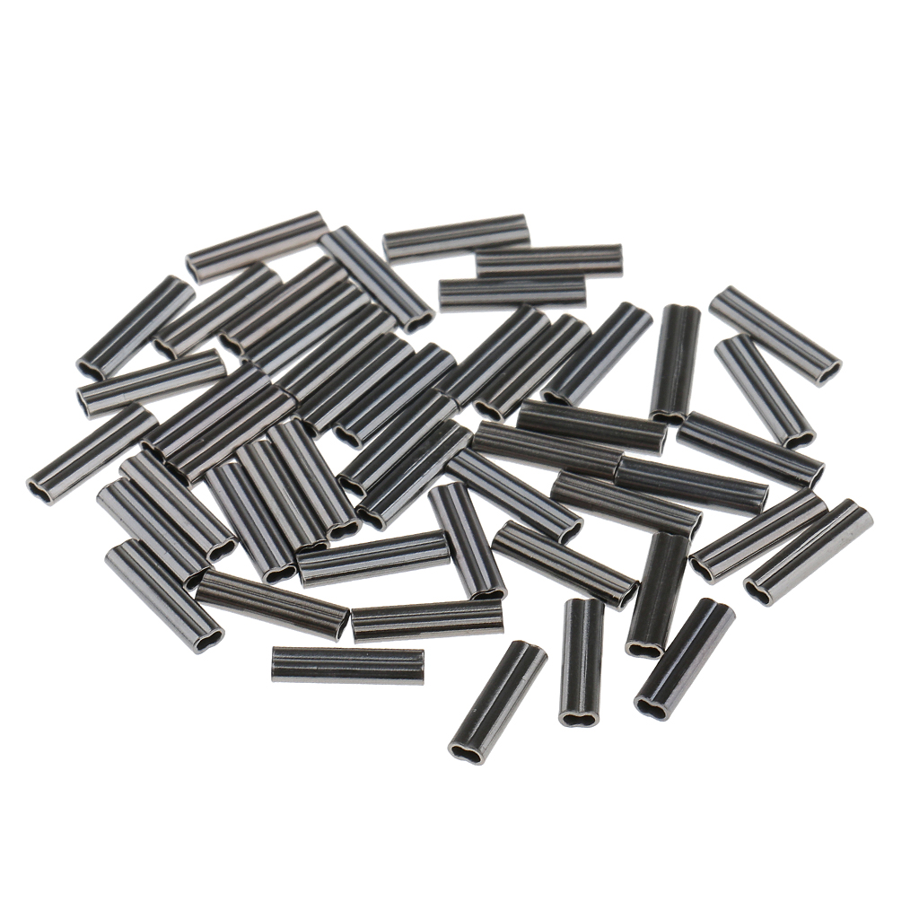 BLACK The Flying Wheels Aluminum Reusable End Cap 1.5mm 1.6mm 2 x Pcs Pack