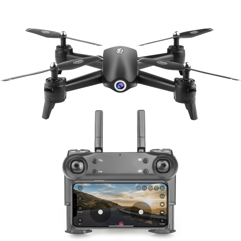 S165 RC Drone 4K Optical Flow Positioning 1080p HD Dual Camera Wifi Fpv Real Time Aerial Video RC Quadcopter Helicopter Toys image