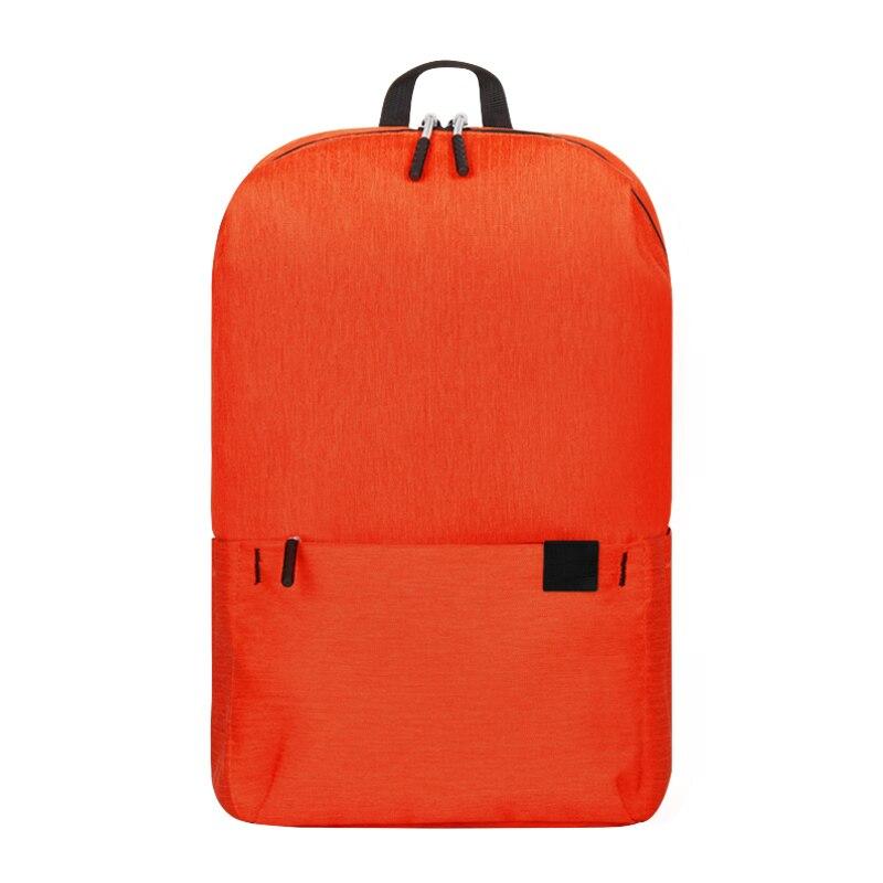 Женский рюкзак для путешествий, рюкзак через плечо, сумка для милой девушки, водонепроницаемые, мульти-карманные сумки, повседневная Студенческая спортивная сумка, рюкзак для ноутбука - Цвет: PCKG Orange