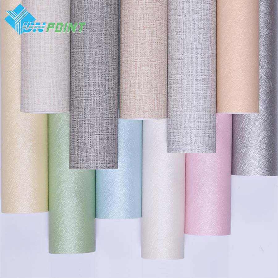 Waterproof Self-adhesive Wallpaper Backdrop Dormitory Bedroom Warm Living Room PVC Furniture Stickers Home Decor Wall Sticker