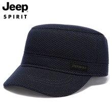JEEP SPIRIT Brand Hat Men Autumn Winter Fleece Thick Warm Mens Caps Windbreaker