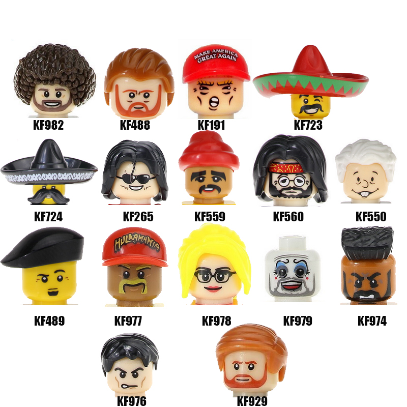Экшн-фигурки известных людей Джозеф робинетт биден президент Мексики США Хиллари мини-фигурки голова детские игрушки