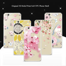 "For Huawei P10 Lite Case Cover 5.2"" 100% Genuine 3D Relief Print TPU Soft Phone Cases Coque For Hawei P10 Lite P10Lite Lace Capa(China)"