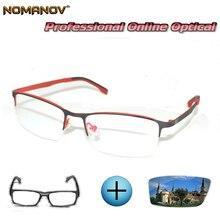 Custom Made Prescription Glasses Optical Photochromic Myopia Reading Ultralight Comfortable Frame Men Women