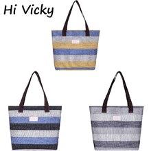 2020 Student Leisure Korean Canvas Bag Blue Yellow Stripes Blue Black Stripes Shoulder Bag Messenger Bag Spring Hot Bags remember чашка для яйца black stripes