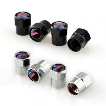 4 Uds caso neumático del núcleo de la válvula tapa para BMW F30 F20 F10 F15 F13 M3 M5 M6 X1 X3 X5 X6 320I 116I 118I 328I 530I accesorios de coche