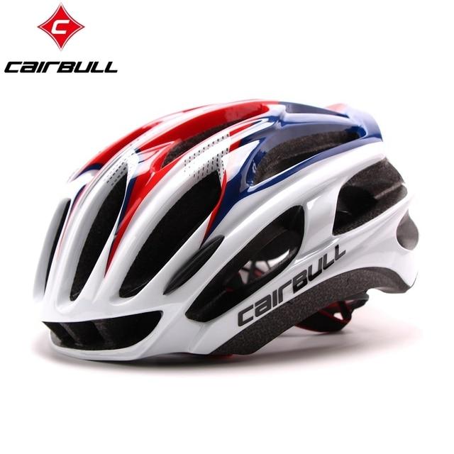 Cairbull estrada capacete da bicicleta ultraleve capacetes das mulheres dos homens mountain bike equitação ciclismo integralmente moldado capacete óculos de sol 2
