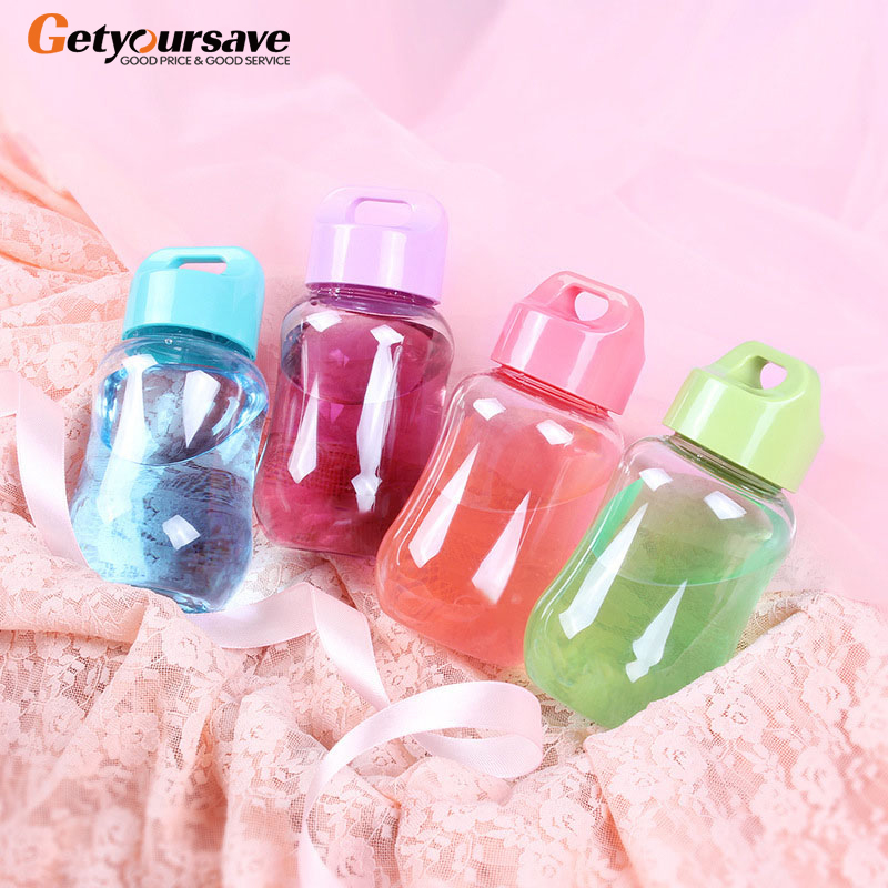 180Ml Plastic Colorful Water Bottle Portable School Water Bottles For Children Kids Mini Cute Bottle For Water Small And Cute|Water Bottles|   - AliExpress