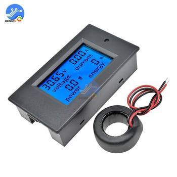 1 Set 4 in 1 Spannung Strom Power Energy Meter Gauge AC 80-260 V/100A Digital Voltmeter amperemeter mit Stromwandler