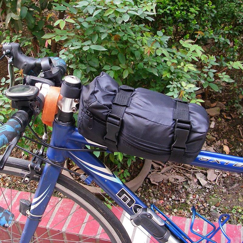 Bike Bag Waterproof Large Volume Oxford Fabric Mountain Bicycle zhuang che bao Highway Mountain Bike Ride Luggage|Bicycle Bags & Panniers| |  - title=