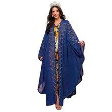 Новый мусульманский модные Абая кафтан светильник класса люкс