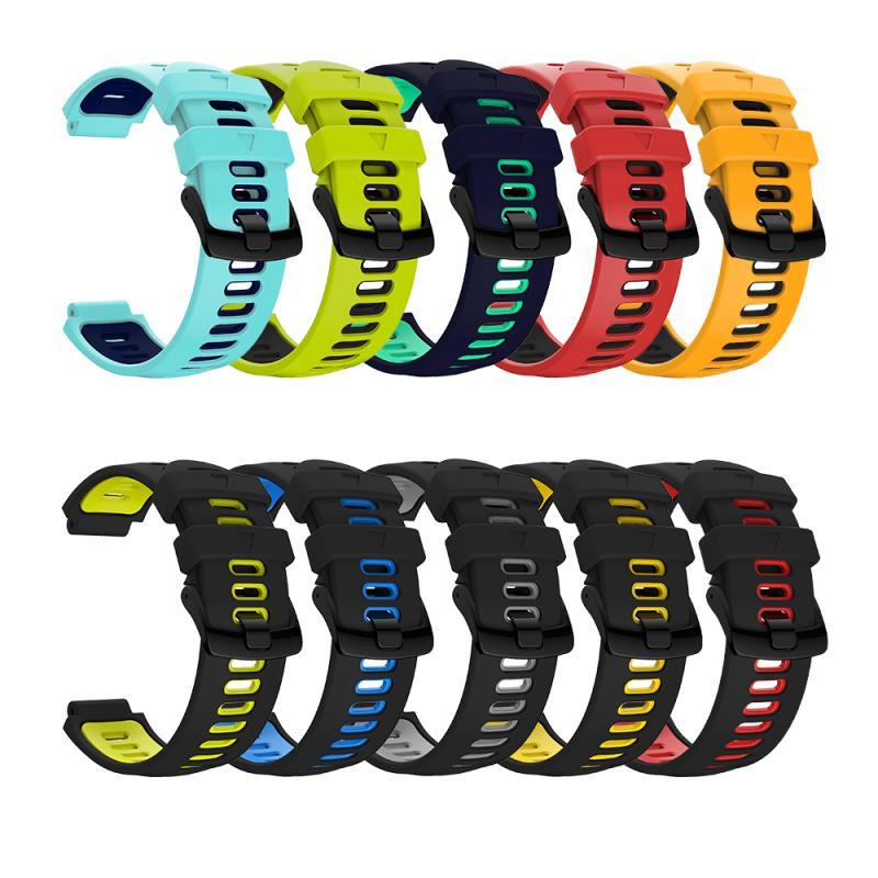 Для девочек; Мини-юбка для Garmin Forerunner 235 Band Силиконовый браслет для часов для Forerunner 220/230/235/620/630 / 735XT / 235 Lite сменный ремешок