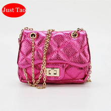 Wallets Mini Purse Shoulder-Bags Leopard Small Girls Baby Kids Just Tao for JT042 13-Colors