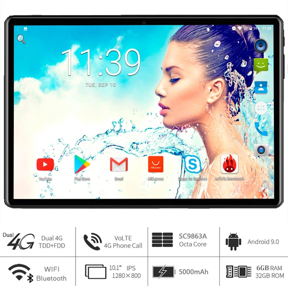 2021 нового года Google Play 6G Ram восемь ядер, 10 дюймовый планшет, компьютер, 5G Wi-Fi 4 аппарат не привязан к оператору сотовой связи Android 9,0 планшетный П...