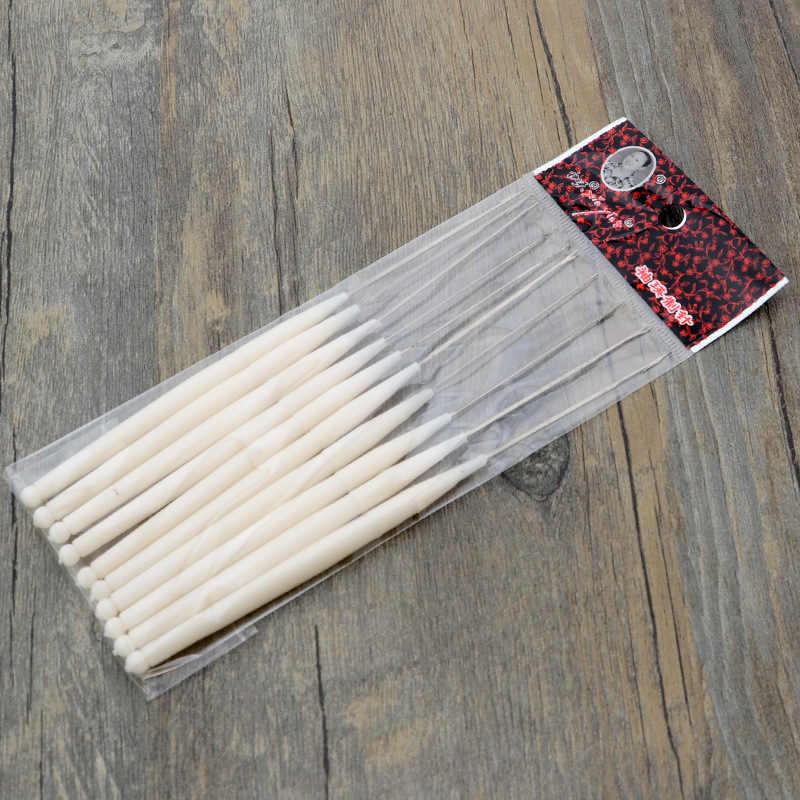 Zotoone 1 Tay Cầm Nhựa Áo Len Thêm Mỹ Áo Croptop Đan Móc Kim Bện DIY May Gia Công Cụ Phụ Kiện G