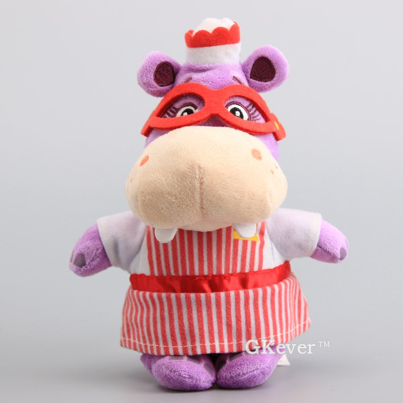 23 Cm Anime Doc Mcstuffins Hippopotamus Figure Plush Toys Dolls Peluche Stuffed Animals Toys Baby Kids Christmas Birthday Gift