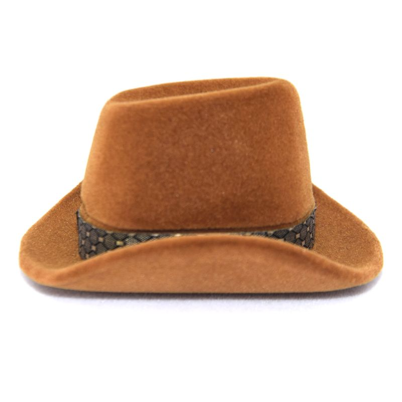 Creative Cowboy Hat Shape Rings Box Jewellery Display Storage Case
