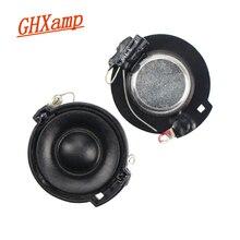 GHXAMP 32 مللي متر فيلم الحرير ثلاثة أضعاف المتكلم مكبر الصوت صغير مخروط حوض النيوديميوم المزدوج المغناطيسي 8 أوم 10 واط 2 قطعة