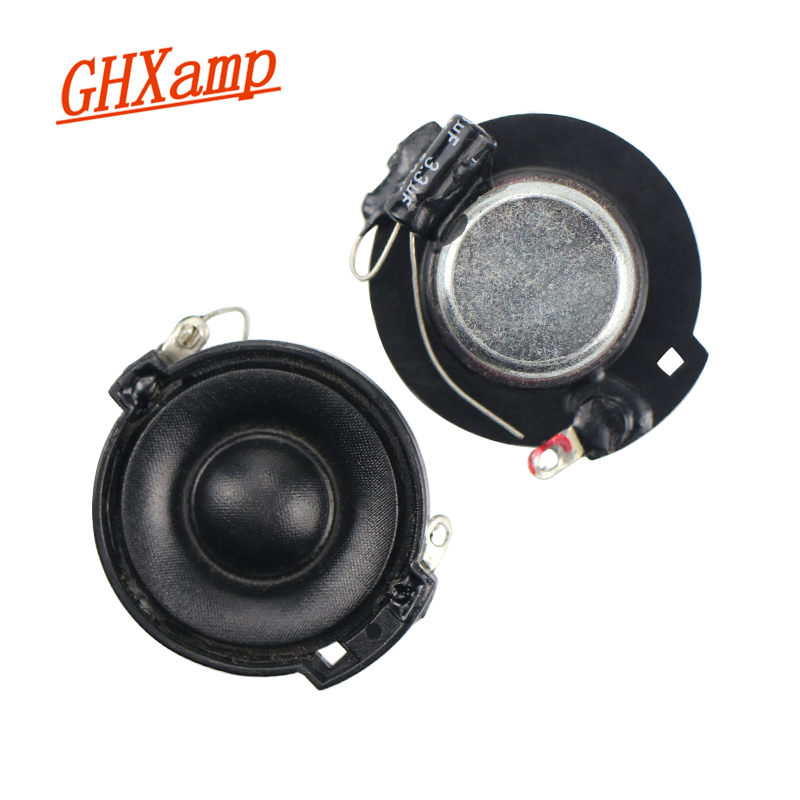 AIYIMA 2pcs 1inch 4ohm 10w Tweeter Loudspeaker Strong Magnet Treble Speaker DIY