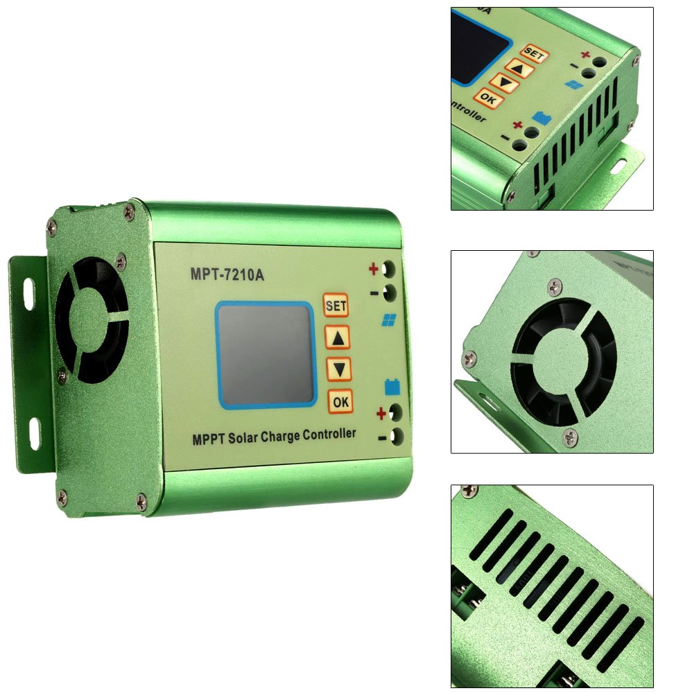 painel solar do controlador solar lcd 04