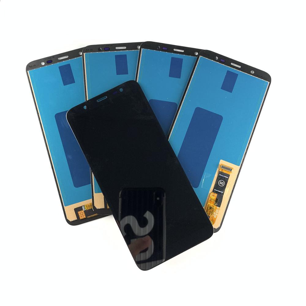 5 Pieces/lot New Incell For <font><b>Samsung</b></font> Galaxy <font><b>J8</b></font> <font><b>2018</b></font> J810F Touch Screen Digitizer <font><b>LCD</b></font> Display For <font><b>Samsung</b></font> J810 J810F/DS Copy Oled image