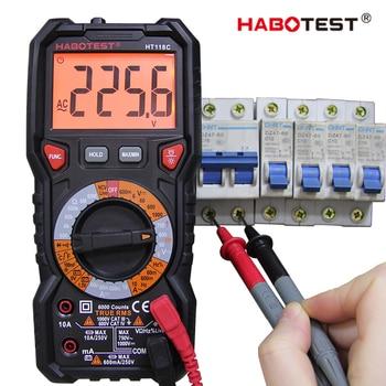 HT118C 6000 counts digital multimeter multitester multi tester   tester multitester profesional