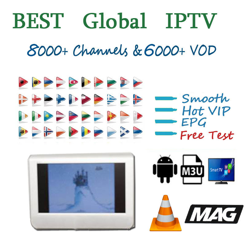 Europe Arabic Spain IPTV Subscription 8000 Live 6000 Vod Europe Arabic UK USA Germany Italy Canada Turkey  IPTV MA8 M3U