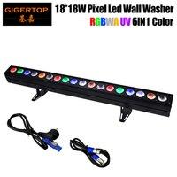 TP WP1818B 18x18 W Nicht Wasserdicht Bühne Pixel Led Wall Washer Licht Führte Steuerung Lange Bar Licht RGBWA UV 6 Farbe DMX512-in Bühnen-Lichteffekt aus Licht & Beleuchtung bei