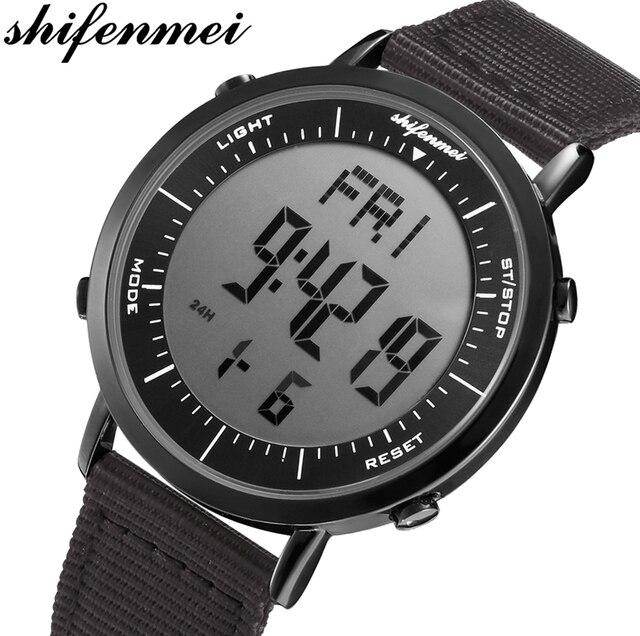 Мужские спортивные водонепроницаемые часы shifenmei