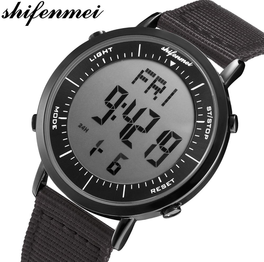 Montre numérique hommes mode étanche sport montres homme extérieur montre-bracelet Led numérique réveil pour hommes Relogio Masculino