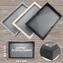 Big Size Display Case/Box Dustproof Board 32*48 Dots Base Plate DIY Building Blocks Parts Compatible Figures Kids Toys