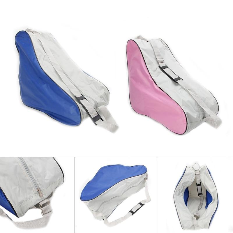 New Portable Adjustable Shoulder Strap Roller Skating Bag Skates Carry Bag Case