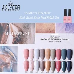 ANLYLAN Gel Nail Polish Set Hybrid All For Manicure 15ML Colors Semi Permanant UV Nail Art Prime Gel Varnish Nail Polish