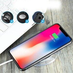 Image 5 - Für Huawei Honor 9X Drahtlose Ladegerät Telefon Zubehör Fall Für Huawei Ehre 9X Pro Qi Power Ladung Lade Pad mit empfänger