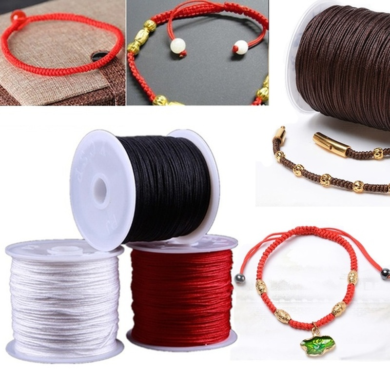 393inch/Roll Strong Elastic Stretchy Crystal Beading Thread Cord For Bracelet DIY String Braided Hand-woven Jewelry Making