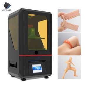 Image 1 - Anycubique Photon résine 3d imprimante UV LED écran tactile ultime tranche vitesse intérieur bureau SLA 3d imprimante impresora 3d Impressora