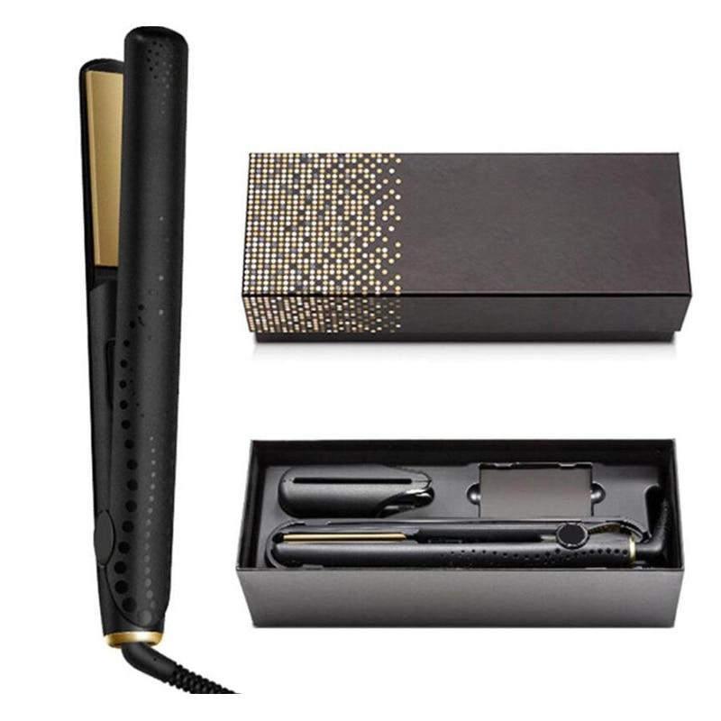 Выпрямитель для волос Pro V Gold Max, Классический Профессиональный стайлер, быстрое выпрямление, утюжок, инструмент для укладки волос, хорошее к...