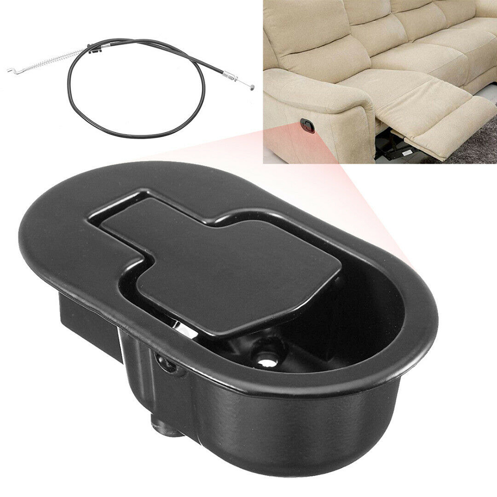 Sofa Recliner Release Handle With Release Lever Trigger Cable Pressure Bar Pull Cable Chair Couch Release Lever Replacement