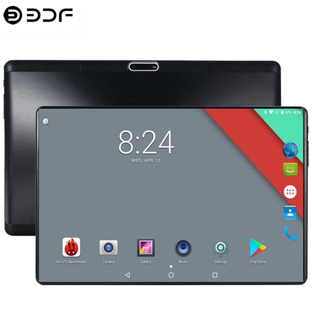 2019 New 10 Inch Original 4G LTE Phone Call Android 7.0 Octa Core 4G+64G Android Tablet Pc Beautiful IPS HD Pc Tablet GPS WiFi