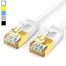 Cabo Internet Cat6 RJ45 Cat6a RJ45 Cabo Ethernet UTP Cabo De Remendo de Rede Lan Cabo Curto 0.5m 1m 2m 3m 5m Preto Branco Azul