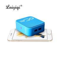 Laiyiqi fashion square Wireless Bluetooth speaker Portable Loudspeaker Player caixa de som portatil alto falante altavoz pb3 dia