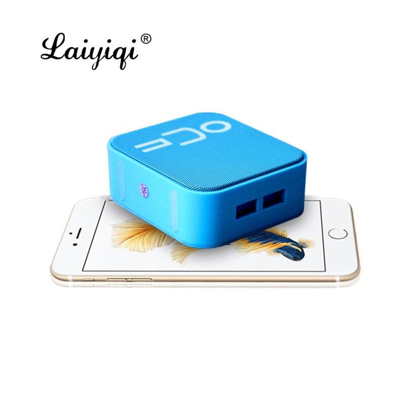 Laiyiqi moda quadrado alto-falante sem fio bluetooth portátil alto-falante caixa de som alto falante altavoz pb3 dia