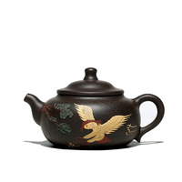 Color handpainted yixing teapot kung fu kettle handmade pot drinkware