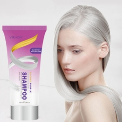100ml Remove Yellow Purple Toner To Silver Gray Blonde Bleached Hair Dye Professional Toning Hair Shampoo