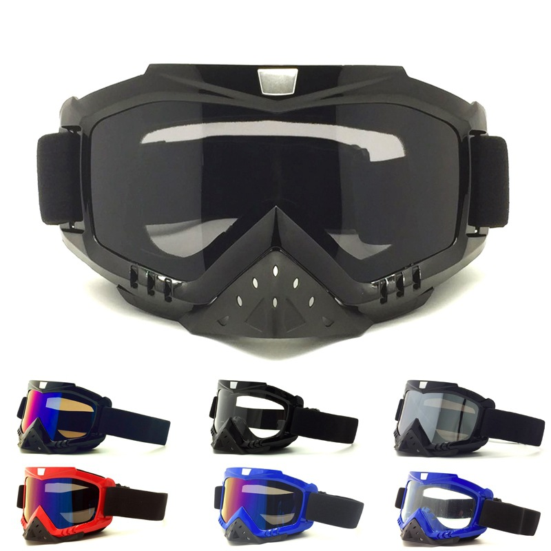 A Generation Of Fat Motorcycle Off-road Helmet Goggles Cycling Windproof Eye-protection Goggles Ski Goggles Race Car Goggles
